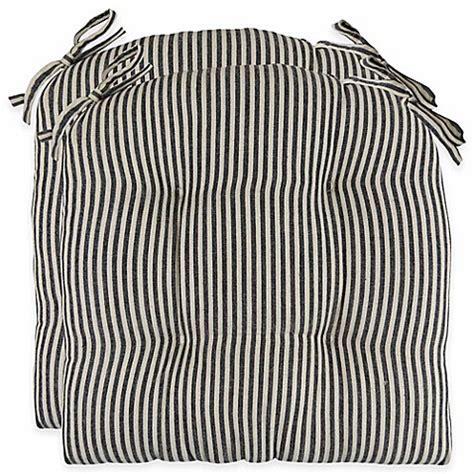 Buy Park B. Smith® Farmhouse Stripe 16 Inch Chair Pads in