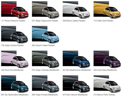 the color lounge general new colours on the way the fiat forum
