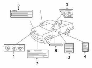 Chevrolet Silverado 1500 Engine Decal  Fuse Block