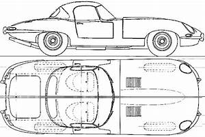 1961 jaguar e type 38 roadster blueprints free outlines With 1955 jaguar e type