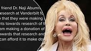 Dolly Parton brings us closer to coronavirus vaccine with ...