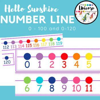 sunshine number       kindergarten