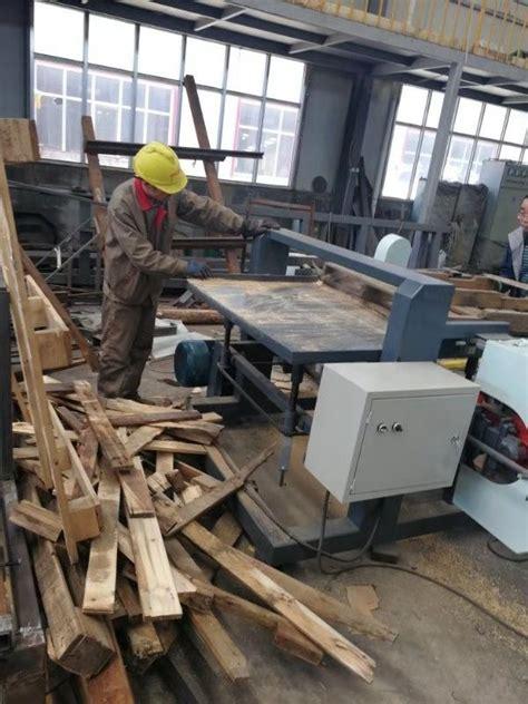 wood pallet dismantler band  machine  sale pallet