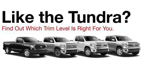 Toyota Trim Levels by 2017 Toyota Tundra Trim Levels Reinhardt Toyota Serving