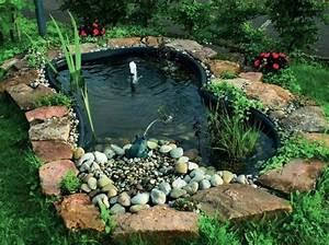 Kleine Gartenteiche Beispiele : gartenteich anlegen standort form gr e richtig bestimmen ~ Whattoseeinmadrid.com Haus und Dekorationen