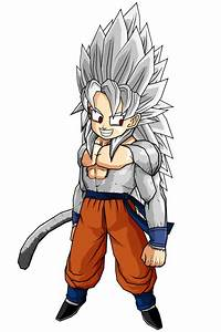 SSJ5 Goten by SpinoInWonderland on DeviantArt
