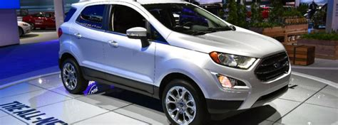2019 Ford Ecosport Engine Specifications
