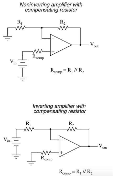 Operational Amplifier Reason Behind Choosing The