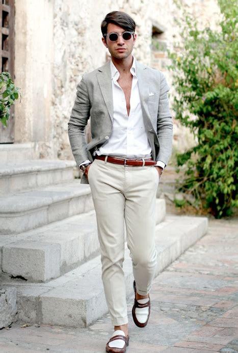 costume homme dépareillé mode homme tenue classe pour un mariage ã la plage pictures to pin on - Tenu De Mariage Homme