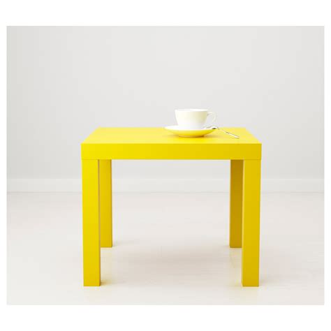 Ikea Tisch Lack by Lack Side Table Yellow 55 X 55 Cm Ikea