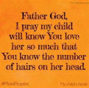 I Love God Children Prayers