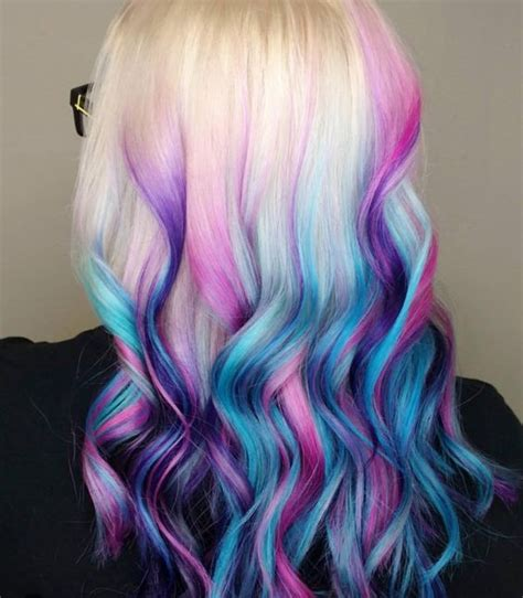 Dyed Hairstyles by Dip Dye Hair Guide How To Dip Dye Your Hair At Home