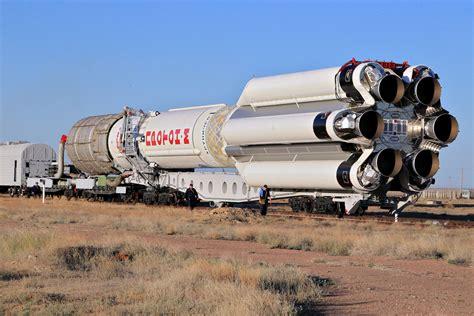 Proton Rocket Returns to Baikonur Launch Pad for Long ...