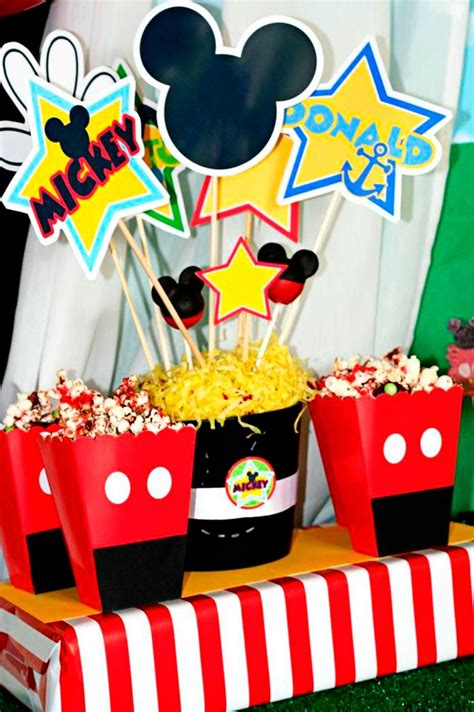 amandas parties   mickey mouse party