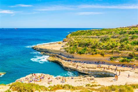 secret beaches  malta  visit
