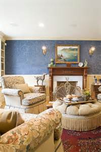Design English Traditional Living Rooms