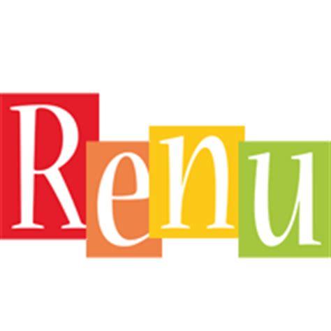 renu logo  logo generator smoothie summer