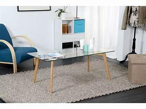 Plateau Verre Ikea : table basse rectangulaire avec plateau en verre loom vente de table basse conforama ~ Teatrodelosmanantiales.com Idées de Décoration