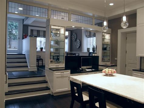 chicago gold coast brownstone traditional kitchen