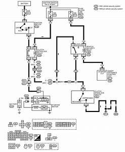 2004 Nissan Xterra Starter Diagram