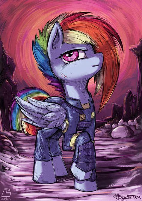 rainbow dash warrior  fidzfoxdeviantartcom