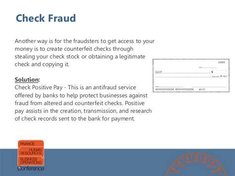 preventing nonprofit banking fraud   tools