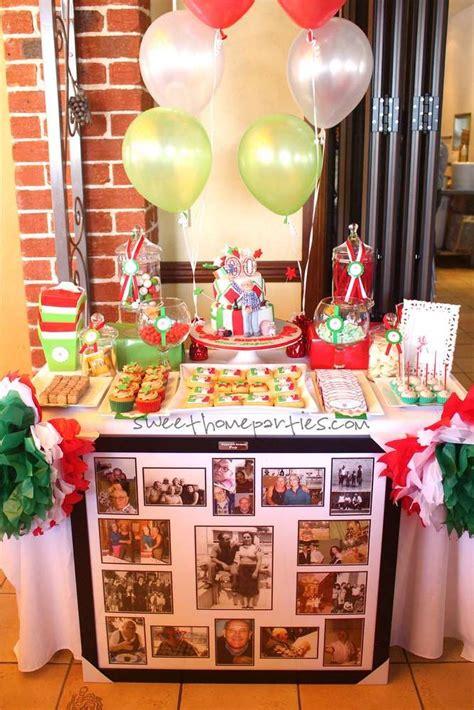 birthday italian birthday party ideas