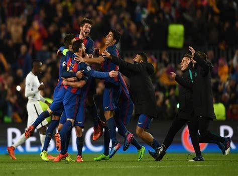 Psg Vs Barca Remontada / Barcelona V Psg Match Report 08 ...