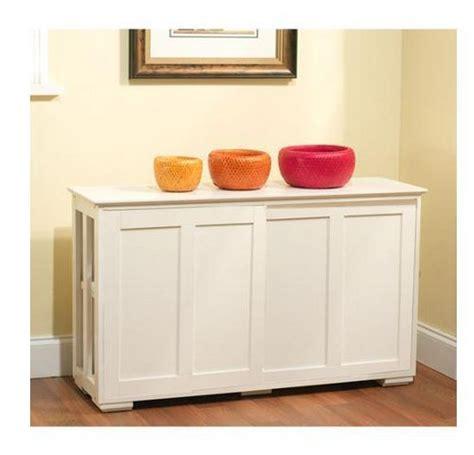 Kitchen Storage Cabinet Stackable Sliding Doors White Wood