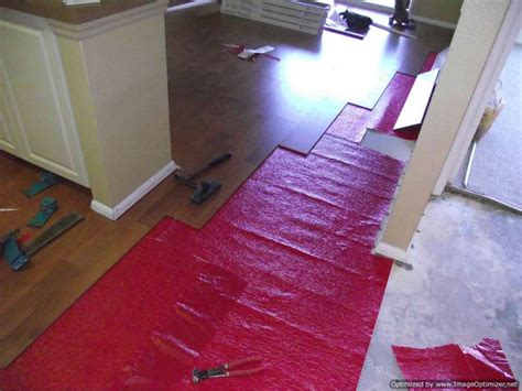 repair wet laminate flooring