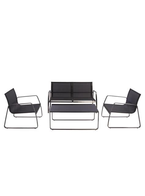 canape pour exterieur ensemble canapé fauteuils table basse pour extérieur