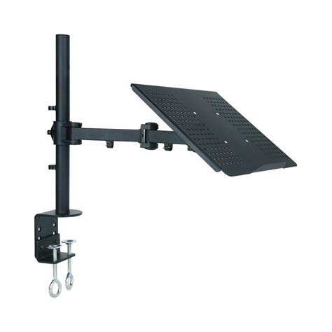 laptop desk mount arm tygerclaw lcd6001 single arm laptop desk mount lowe 39 s canada