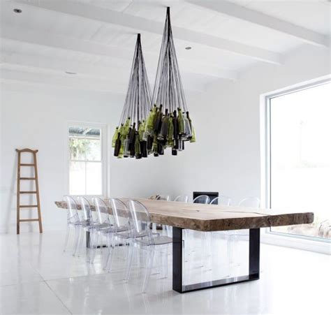 Recycled Wine Bottle Chandelier by Unique Chandeliers Made Out Of Recycled Wine Bottles