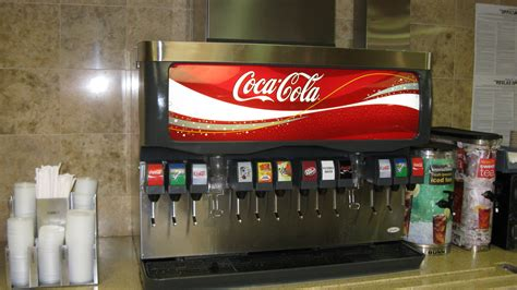 cuisine coca cola self service coca cola soda mc donald 39 s restaur