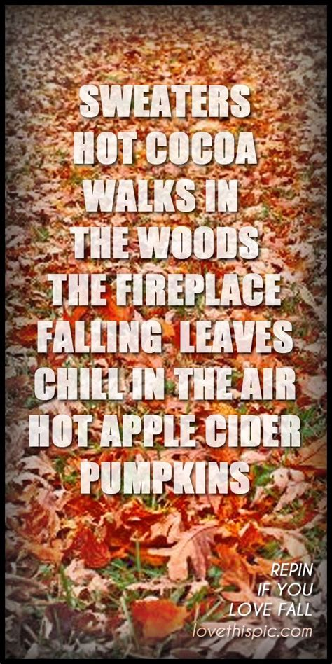 Fall Weather Quotes Quotesgram