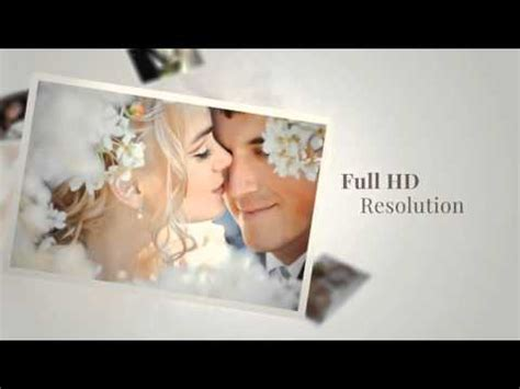wedding day gallery after effects project files