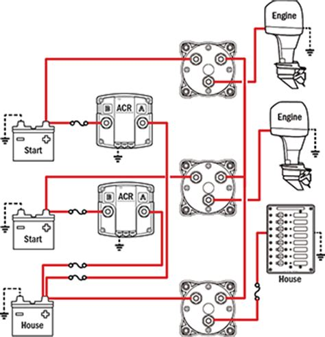 3 Position Marine Battery Switch Wiring Diagram by Battery Management Wiring Schematics For Typical