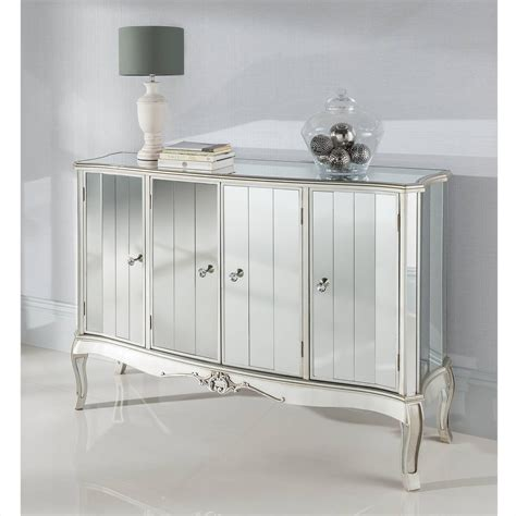 20 Inspirations Of White Mirrored Sideboard
