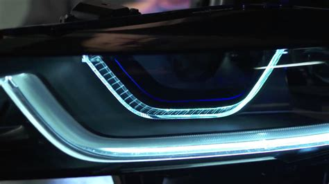 bmw i8 how laser powered headlights work