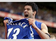 Michael Ballack Farewell to a Chelsea Legend Football