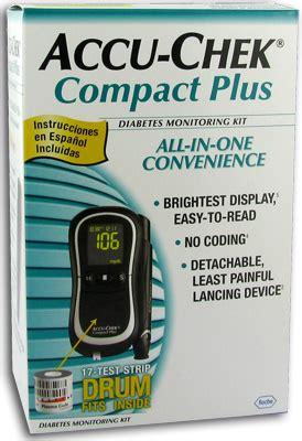 accu chek compact  glucose monitor
