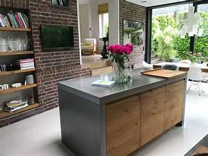 Arbeitsplatte Küche Beton : arbeitsplatten aus beton k chen journal ~ Watch28wear.com Haus und Dekorationen