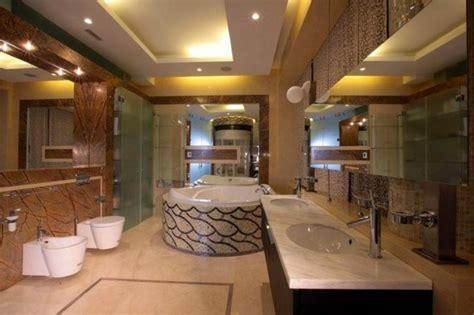 faux plafond salle de bain moderne chaios