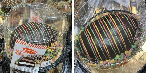 costco  selling  giant egg shaped cake  filled