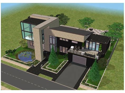 luxury home plans with pools minecraft small modern house blueprints planning