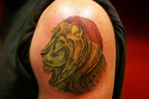 Rasta Lion Of Judah Tattoo | www.imgkid.com - The Image ...