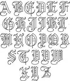 Old English Font