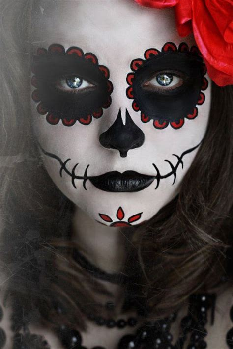 squelette mexicain maquillage recherche