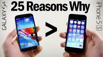 what s better samsung or iphone 25 reasons why galaxy s4 is better than iphone 5s
