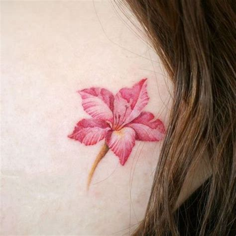 Gladiolus Tattoo  Meaning And Ideas Of Flower Tattoo